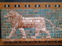 狮子监护人 库存图片