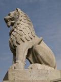狮子石头 库存图片