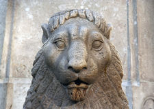 狮子石头 图库摄影