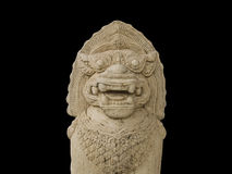 狮子石头 免版税图库摄影
