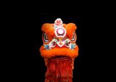 狮子舞蹈家中国式 免版税图库摄影
