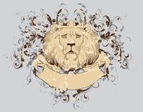 狮子衬衣t 免版税库存图片