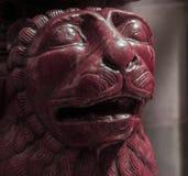 狮子雕象在意大利 图库摄影