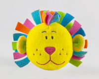 狮子面孔玩具 库存照片
