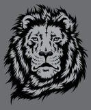 狮子顶头传染媒介 免版税图库摄影