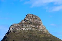 狮子顶头山南非 免版税库存图片