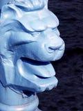狮子题头 库存照片