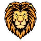 狮子题头 皇族释放例证