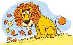 狮子鬃毛 免版税图库摄影