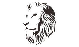 狮子头行艺术图画例证 免版税图库摄影