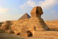 狮身人面象在吉萨棉,埃及 免版税图库摄影