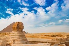 狮身人面象在开罗,埃及 库存图片