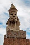 狮身人面象在彼得斯堡 免版税库存图片