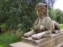狮身人面象的雕象 免版税库存照片