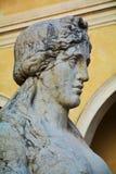 狮身人面象雕象,科内利亚诺威尼托,细节 免版税库存图片