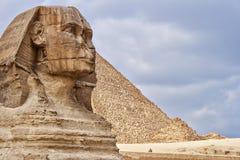 狮身人面象- pharaos的监护人 库存照片