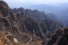 狼牙山山,中国 库存照片