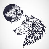 狼象征 免版税库存图片