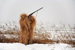 猎人屏蔽 免版税图库摄影