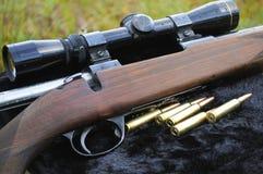 猎人步枪 免版税图库摄影