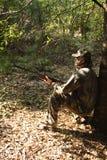 猎人狩猎运动员 免版税图库摄影