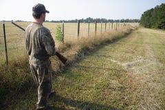 猎人狩猎运动员 图库摄影