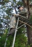 猎人狩猎运动员 库存照片