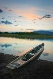 猎人的小船2 库存图片