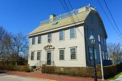 猎人议院,罗德岛州,美国 免版税库存照片
