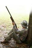 猎人运动员 免版税图库摄影