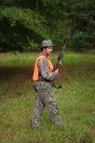 猎人运动员 免版税库存照片