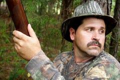 猎人-运动员 免版税图库摄影