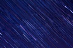 猎户星座在夜空的星足迹 图库摄影