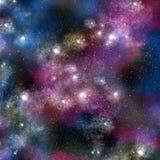 猎户星座空间星形 库存例证
