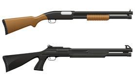 猎枪向量例证 库存例证