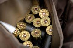 猎枪弹 免版税图库摄影