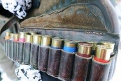 猎枪的弹药 免版税图库摄影