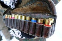 猎枪的弹药 免版税库存照片