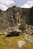 猎物岩石威尔士 库存照片