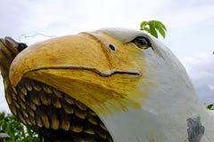 猎鹰雕象 免版税库存照片