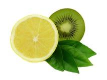 猕猴桃柠檬 免版税库存图片