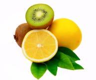 猕猴桃柠檬 库存图片