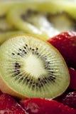 猕猴桃草莓 免版税库存图片