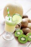 猕猴桃和瓜汁液 图库摄影