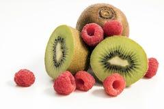 猕猴桃和莓 库存照片