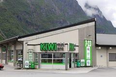 猕猴桃商店,挪威 免版税库存照片