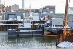 猛拉Vilkikas和驳船雪儿107 免版税库存照片