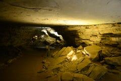 猛犸洞国家公园,美国 免版税库存图片