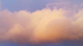 猩红色天空 免版税库存照片