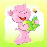 猪和蜂 库存照片